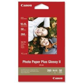 Бумага Canon 4″x6″ Photo Paper Glossy PP-201, 50л