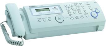 Факс Panasonic KX-FP207UA White (термоперенос)