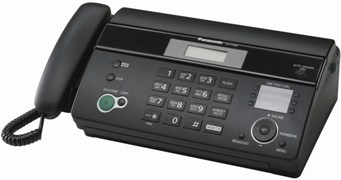 Факс Panasonic KX-FT982UA-B Black (термобумага)
